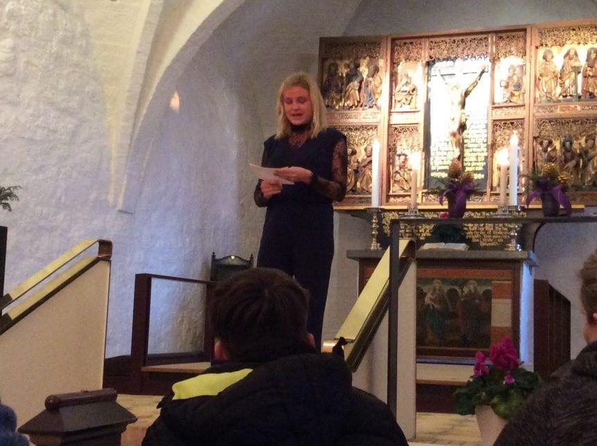 I praktik som præst i Årby Kirke